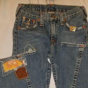 NWT True Religion Woodstock Kids jeans size 14